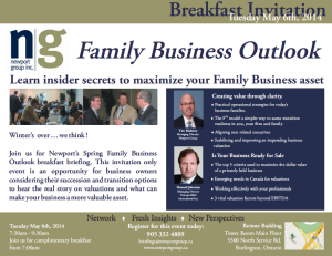 Spring Invitation 2014 Front